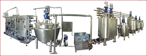 Choclate Process For Chocolate Mixer and Pasteurizer Plant page