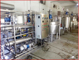 Chocolate Mixer and Pasteurizer Plant
