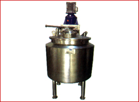 Jacketed Tanks with agitator